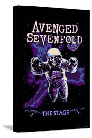 Avenged Sevenfold - The Stage Astronaut Skeleton--Stretched Canvas Print