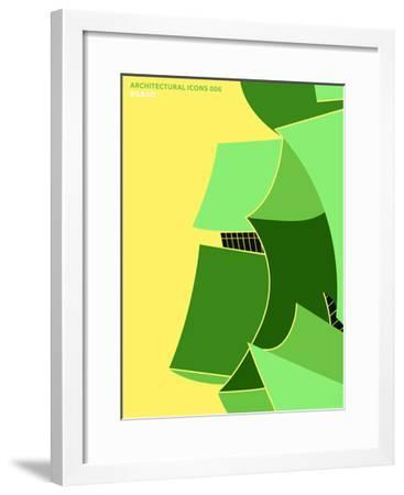 Architectural Icons 6-THE Studio-Framed Premium Giclee Print