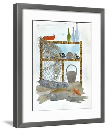 Sea Shelf 1-Brenna Harvey-Framed Premium Giclee Print