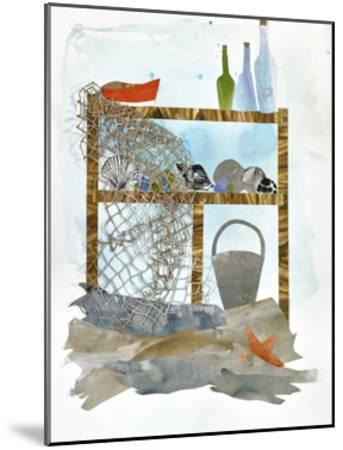 Sea Shelf 1-Brenna Harvey-Mounted Premium Giclee Print