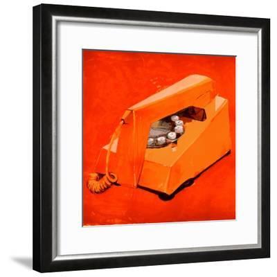 Hello 3-PC Ngo-Framed Premium Giclee Print
