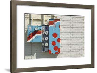 Alberta Meter Boxes-Mimi Payne-Framed Premium Photographic Print
