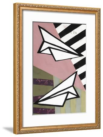 Paper Planes - Recolor-Urban Soule-Framed Premium Giclee Print