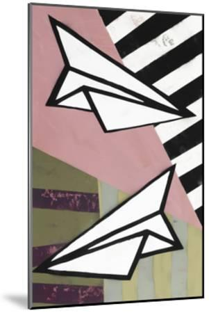 Paper Planes - Recolor-Urban Soule-Mounted Premium Giclee Print