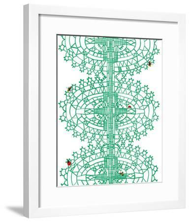 Bugs in Lace-Jorey Hurley-Framed Premium Giclee Print