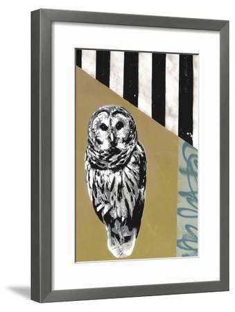 Barred Owl - Recolor-Urban Soule-Framed Premium Giclee Print