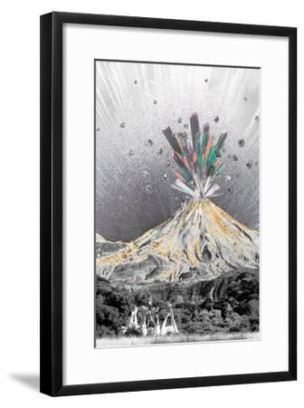 Crysal Explosion-THE Studio-Framed Premium Giclee Print