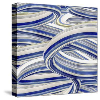 Squeegee Blues 4-Arabella Studios-Stretched Canvas Print
