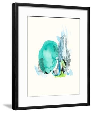 Mountain Abstract 6-Natasha Lawyer-Framed Premium Giclee Print