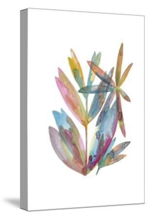 Rainbow Wish 1-Erin Lin-Stretched Canvas Print