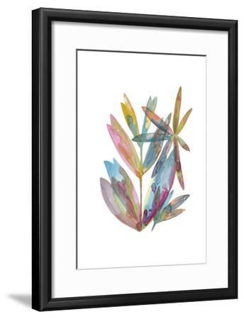 Rainbow Wish 1-Erin Lin-Framed Premium Giclee Print