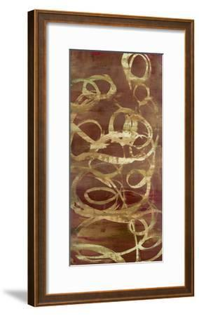 Copper Line 1-Maeve Harris-Framed Premium Giclee Print
