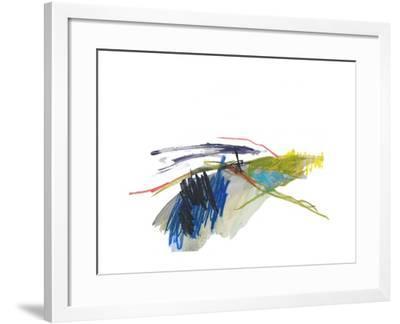 Abstract Landscape No. 8-Jan Weiss-Framed Art Print