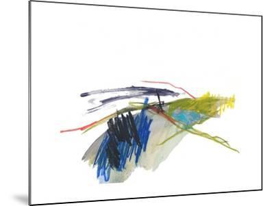 Abstract Landscape No. 8-Jan Weiss-Mounted Art Print