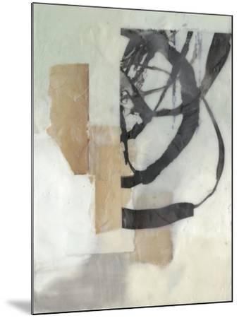 Spiral Slice I-Jennifer Goldberger-Mounted Premium Giclee Print
