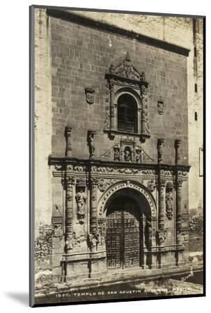 Old Mexico I--Mounted Photographic Print