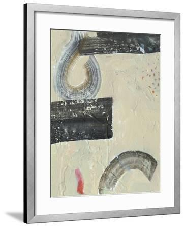 Striate IV-Victoria Borges-Framed Premium Giclee Print