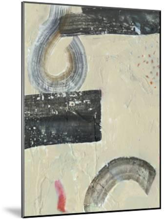 Striate IV-Victoria Borges-Mounted Premium Giclee Print