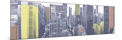Pastel NYC Panorama-Jeff Pica-Mounted Photographic Print