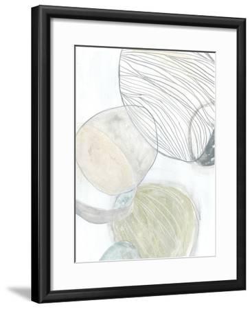 Sea Pebbles II-June Erica Vess-Framed Premium Giclee Print