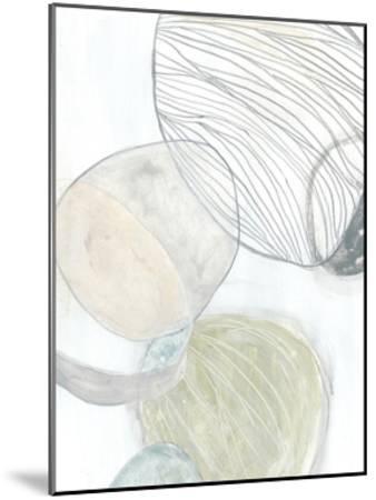 Sea Pebbles II-June Erica Vess-Mounted Premium Giclee Print