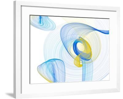 Touching Light II-Irena Orlov-Framed Photographic Print