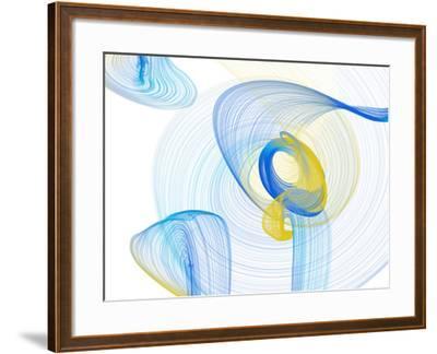 Touching Light II-Irena Orlov-Framed Photographic Print
