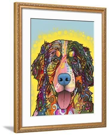 Bernese Mountain Dog-Dean Russo-Framed Giclee Print