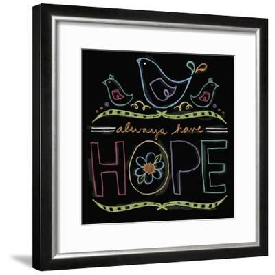 Chalk it Up 8-Holli Conger-Framed Giclee Print