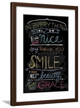 Chalk it Up 1-Holli Conger-Framed Giclee Print