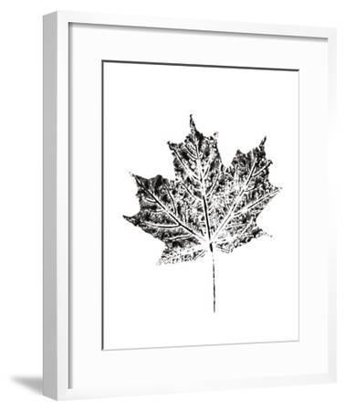 Harvest Sentiments I BW no Words--Framed Art Print