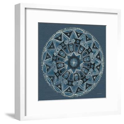 Adire I Cream--Framed Art Print