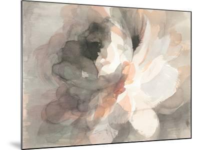 Abstract Peony--Mounted Art Print
