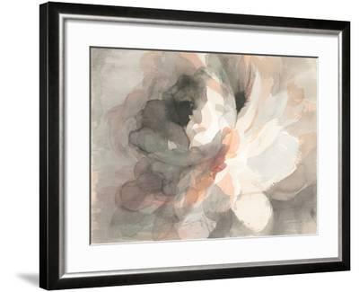 Abstract Peony--Framed Art Print