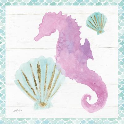 Mermaid Friends VI--Framed Art Print