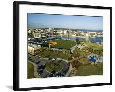 Blue Wahoo's Stadium Pensacola, FL-Bobby R Lee-Framed Photographic Print