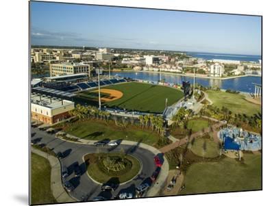 Blue Wahoo's Stadium Pensacola, FL-Bobby R Lee-Mounted Photographic Print