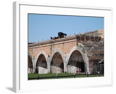 Fort Pickens Arches-Charles F Olson-Framed Photographic Print