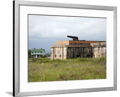 Fort Pickens, Pensacola, Florida-William Silver-Framed Photographic Print
