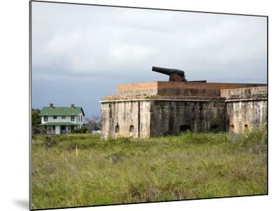 Fort Pickens, Pensacola, Florida-William Silver-Mounted Photographic Print