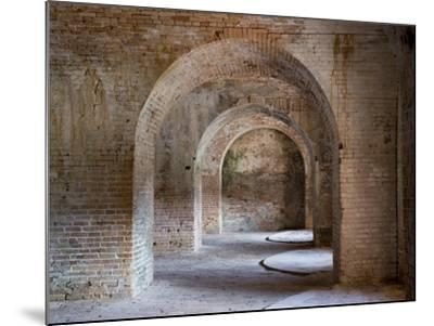 Fort Pickens Was Completed in 1834 and is Part of the Gulf Islands National Seashore in Florida.-Sherry Yates Young-Mounted Photographic Print