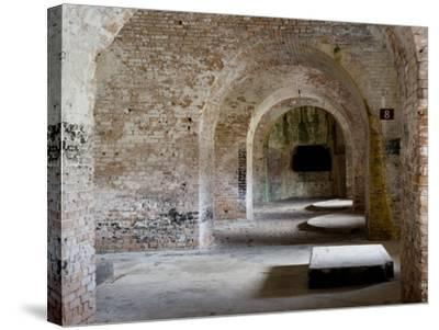 Fort Pickens Was Completed in 1834 and is Part of the Gulf Islands National Seashore in Florida.-Sherry Yates Young-Stretched Canvas Print