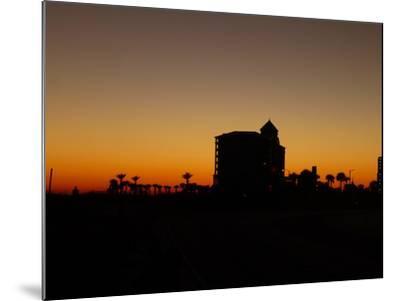 View at Pensacola Beach, Florida. November 2014.-NicholasGeraldinePhotos-Mounted Photographic Print