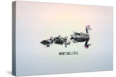 #MomLife--Stretched Canvas Print