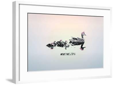 #MomLife--Framed Art Print
