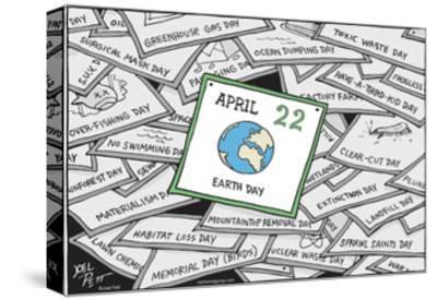 Earth Day.-Joel Pett-Stretched Canvas Print