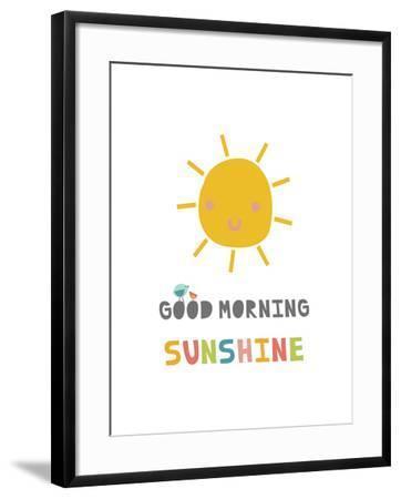 Good Morning Sunshine-Kindred Sol Collective-Framed Art Print
