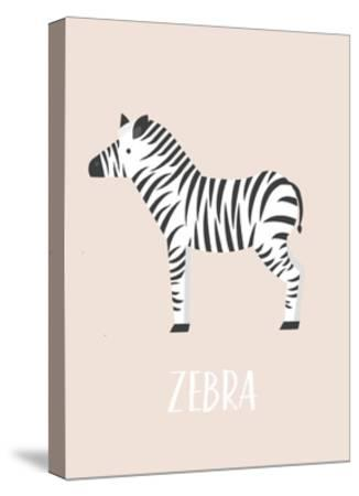 Zebra-Kindred Sol Collective-Stretched Canvas Print