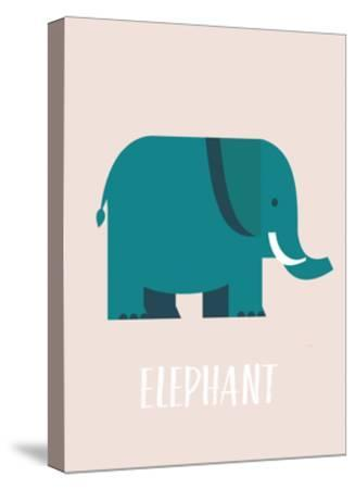 Elephant-Kindred Sol Collective-Stretched Canvas Print