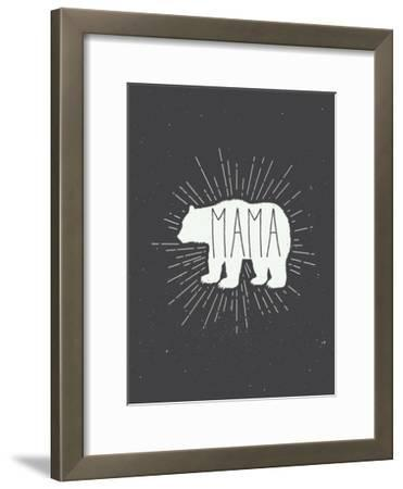 Mama Bear-Kindred Sol Collective-Framed Art Print